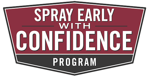 Spray Early With Confidence