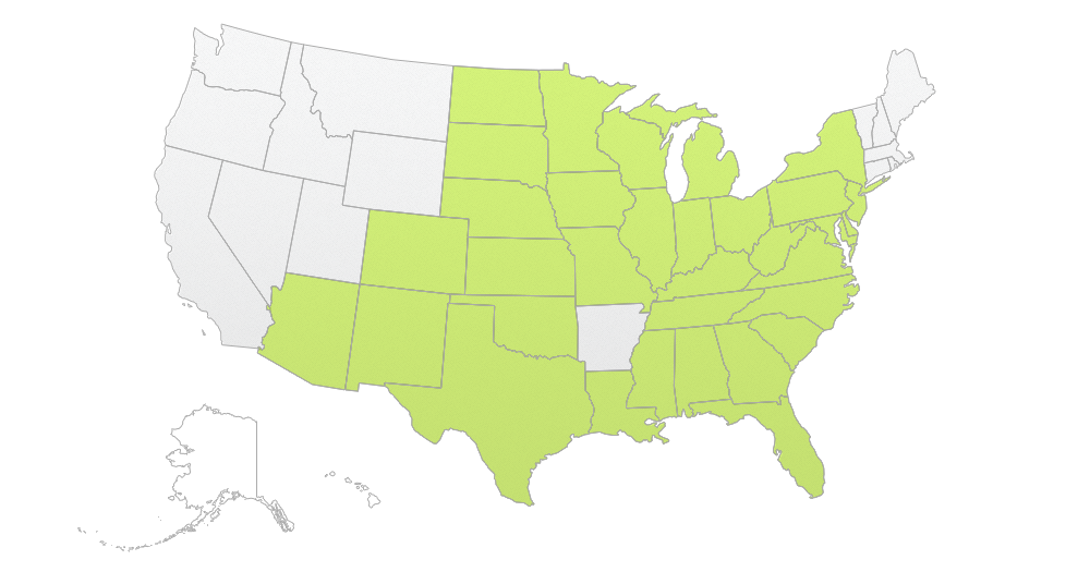 Approval Map Roundup Ready Xtend Crop System - Us state map png
